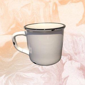 BNWT Distressed Mug